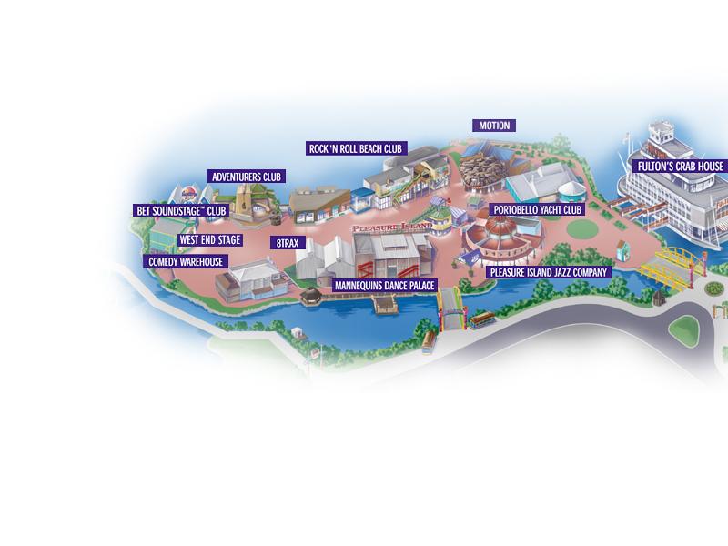 Disney magic maps of walt disney world downtown disney pleasure island gumiabroncs Images