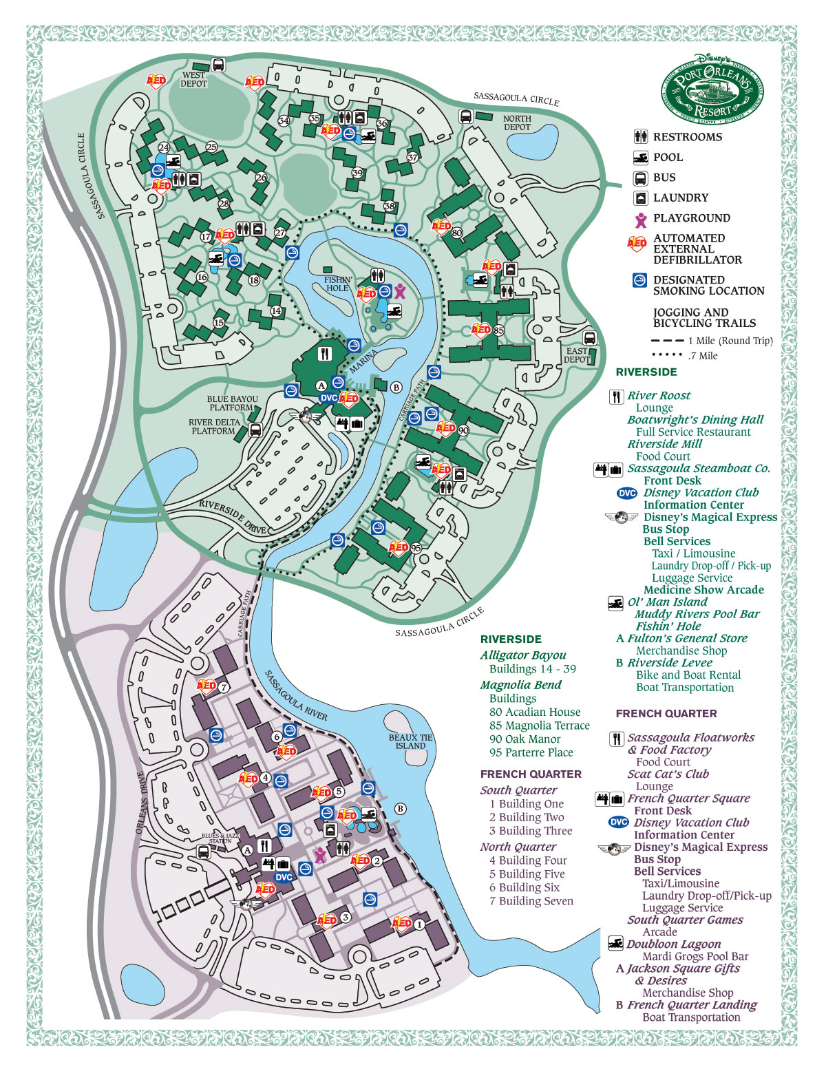 Disney Magic - Maps of Walt Disney World on